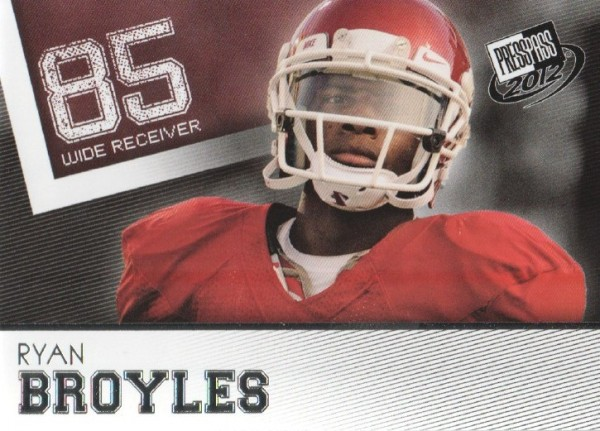 2012 Press Pass #5 Ryan Broyles
