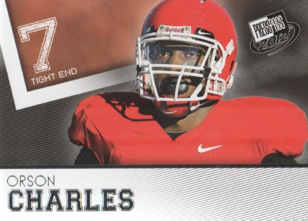 2012 Press Pass #6 Orson Charles