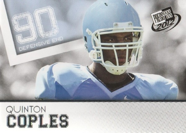 2012 Press Pass #7 Quinton Coples