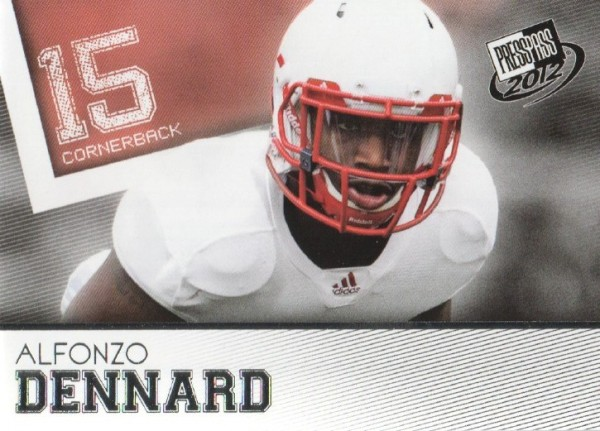 2012 Press Pass #10 Alfonzo Dennard