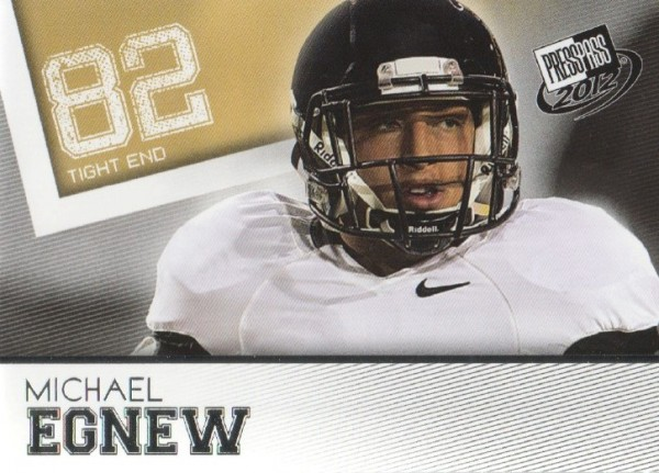 2012 Press Pass #12 Michael Egnew