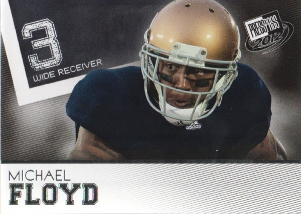 2012 Press Pass #13 Michael Floyd