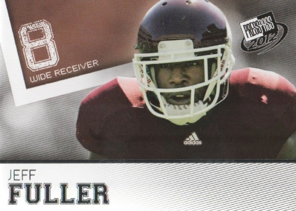 2012 Press Pass #15 Jeff Fuller
