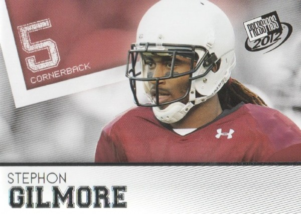 2012 Press Pass #16 Stephon Gilmore