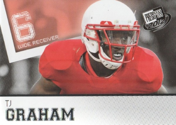 2012 Press Pass #18 T.J. Graham