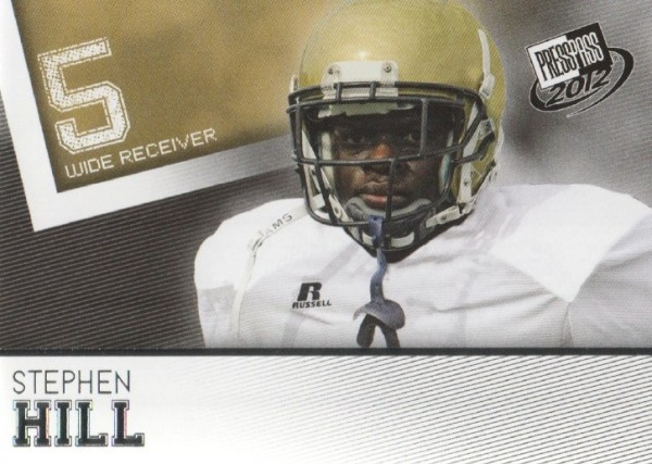 2012 Press Pass #22 Stephen Hill