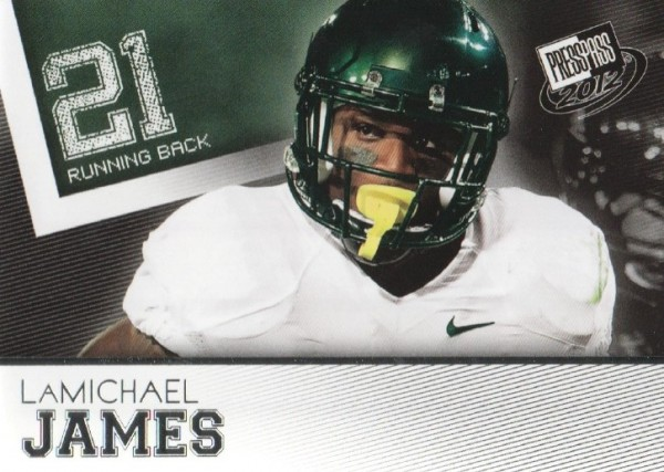 2012 Press Pass #23 LaMichael James