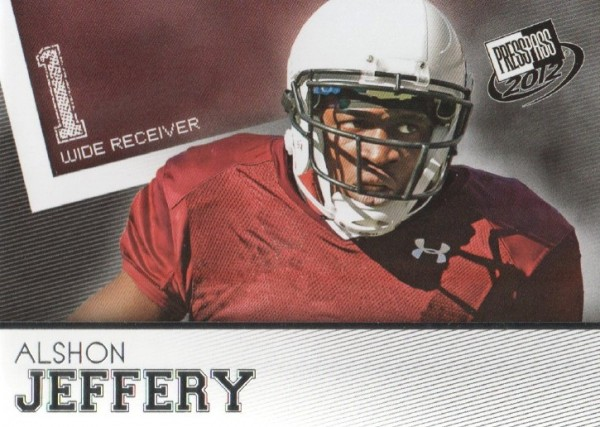 2012 Press Pass #24 Alshon Jeffery
