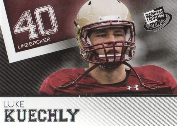 2012 Press Pass #27 Luke Kuechly