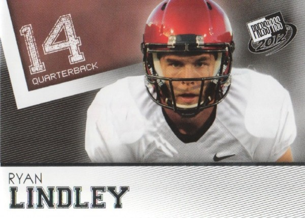 2012 Press Pass #29 Ryan Lindley