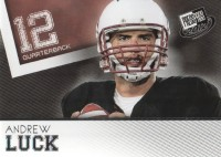 2012 Press Pass #30 Andrew Luck