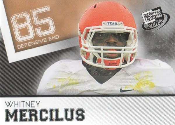 2012 Press Pass #33 Whitney Mercilus