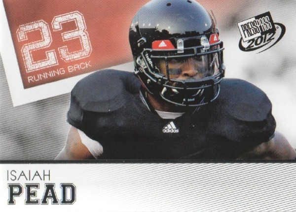 2012 Press Pass #37 Isaiah Pead