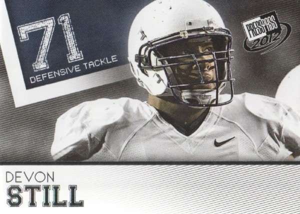 2012 Press Pass #44 Devon Still