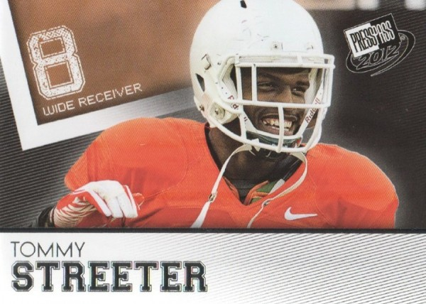 2012 Press Pass #45 Tommy Streeter