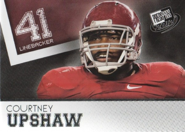 2012 Press Pass #47 Courtney Upshaw