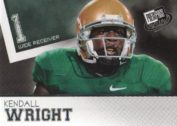 2012 Press Pass #50 Kendall Wright
