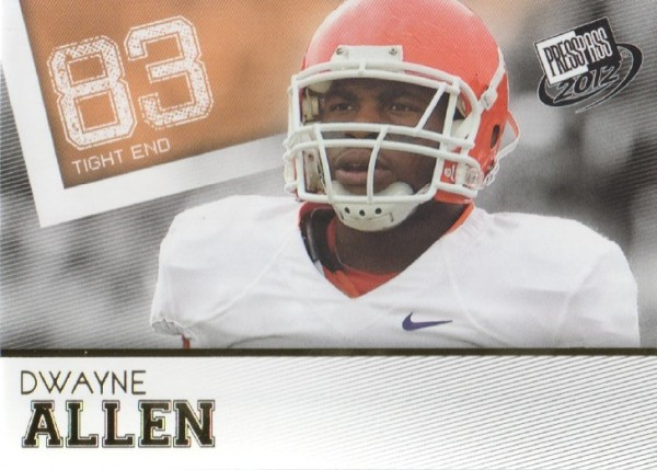 2012 Press Pass Gold #1 Dwayne Allen