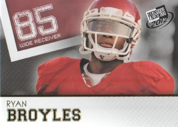 2012 Press Pass Gold #5 Ryan Broyles