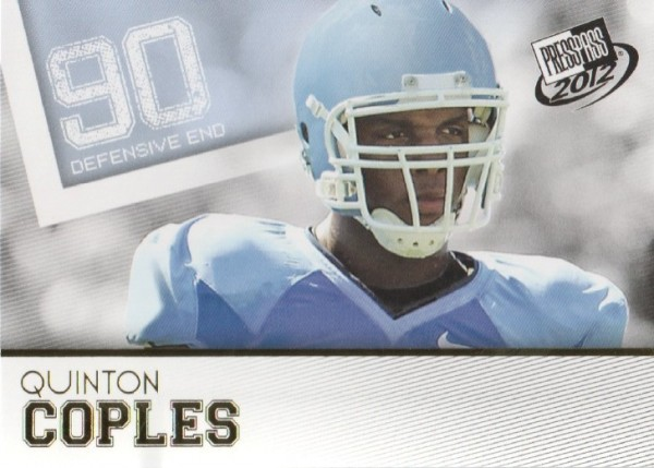 2012 Press Pass Gold #7 Quinton Coples