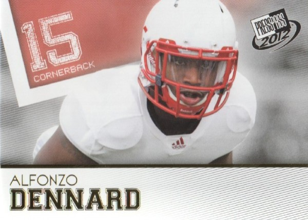 2012 Press Pass Gold #10 Alfonzo Dennard