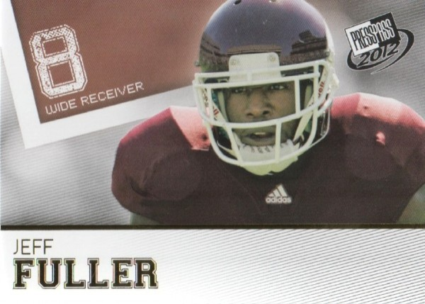2012 Press Pass Gold #15 Jeff Fuller
