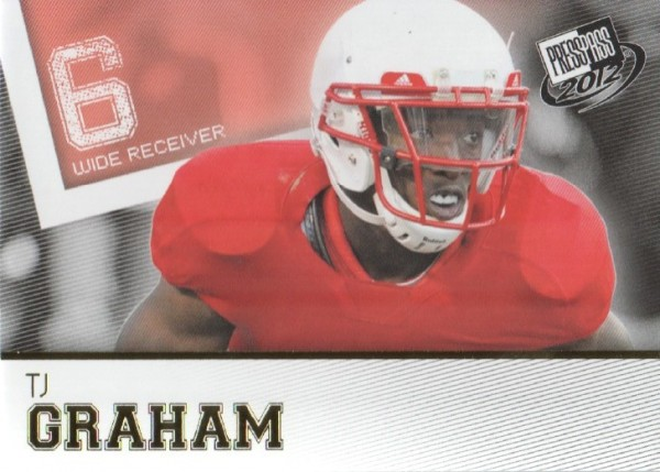 2012 Press Pass Gold #18 T.J. Graham