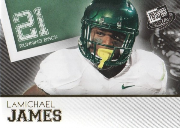 2012 Press Pass Gold #23 LaMichael James