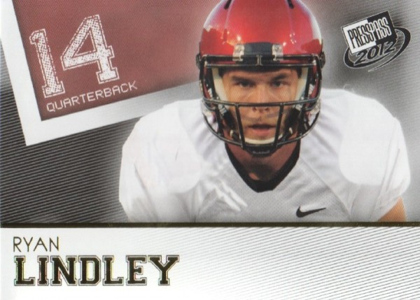 2012 Press Pass Gold #29 Ryan Lindley