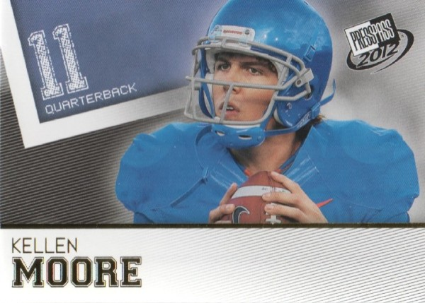 2012 Press Pass Gold #35 Kellen Moore