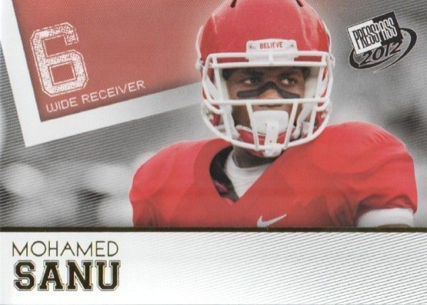 2012 Press Pass Gold #43 Mohamed Sanu