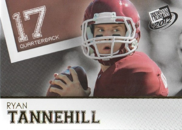 2012 Press Pass Gold #46 Ryan Tannehill