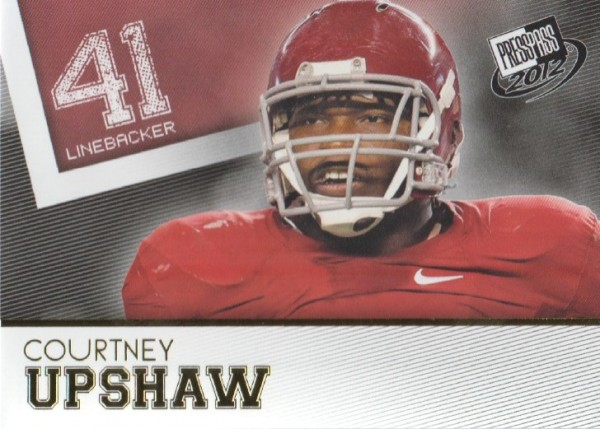 2012 Press Pass Gold #47 Courtney Upshaw