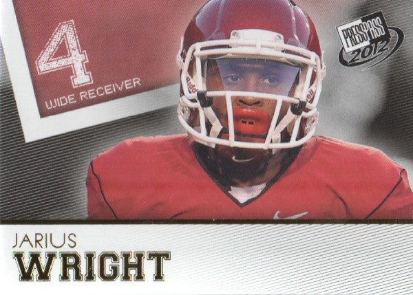 2012 Press Pass Gold #49 Jarius Wright