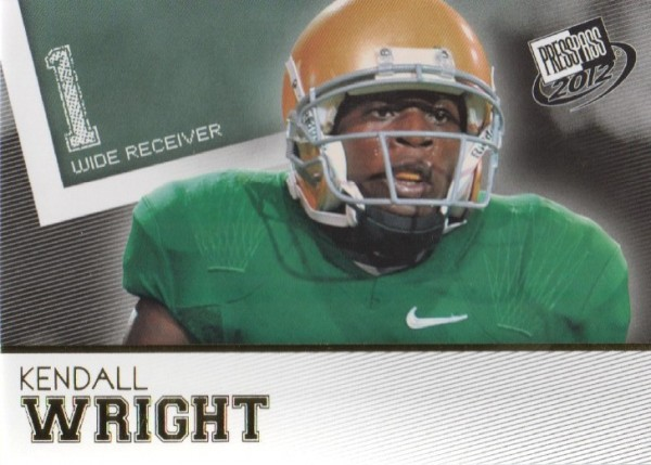 2012 Press Pass Gold #50 Kendall Wright
