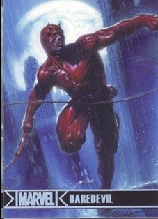 2012 Marvel Greatest Heroes Silver Foil #21 Daredevil