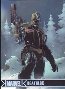 2012 Marvel Greatest Heroes Silver Foil #24 Deathlok