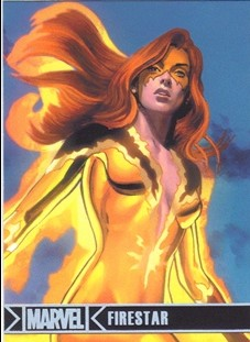 2012 Marvel Greatest Heroes Silver Foil #30 Firestar