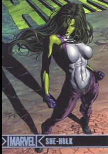 2012 Marvel Greatest Heroes Silver Foil #67 She-Hulk