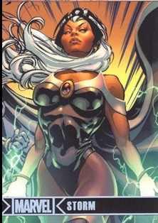 2012 Marvel Greatest Heroes Silver Foil #73 Storm