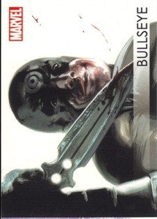 2012 Marvel Greatest Heroes Villains #V2 Bullseye