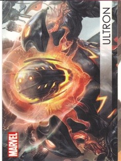 2012 Marvel Greatest Heroes Villains #V18 Ultron