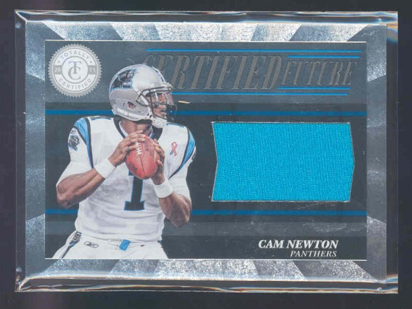 2011 Totally Certified Future Materials #33 Cam Newton