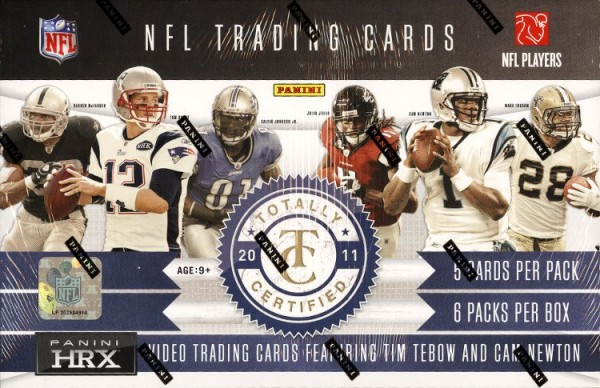 2011 Totally Certified Football Hobby Box