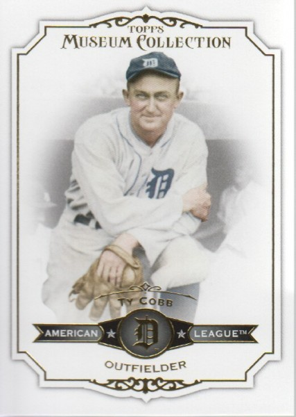 2012 Topps Museum Collection #70 Ty Cobb