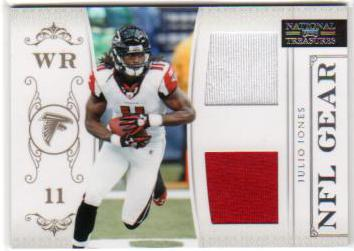 2011 Playoff National Treasures NFL Gear Combos #20 Julio Jones
