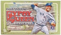 2012 Topps Gypsy Queen Baseball Hobby Box