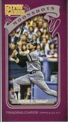 2012 Topps Gypsy Queen Moonshots Mini #RJ Reggie Jackson