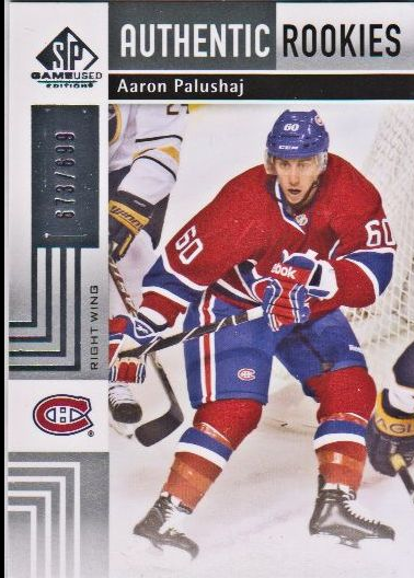 2011-12 SP Game Used #133 Aaron Palushaj RC