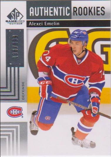 2011-12 SP Game Used #161 Alexei Emelin RC